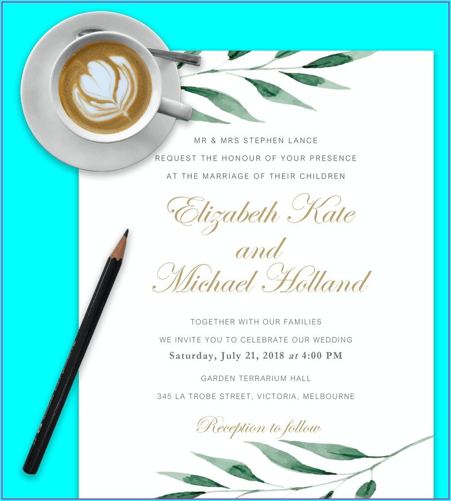 Downloadable Template Sample Downloadable Free Wedding Invitation Templates For Word