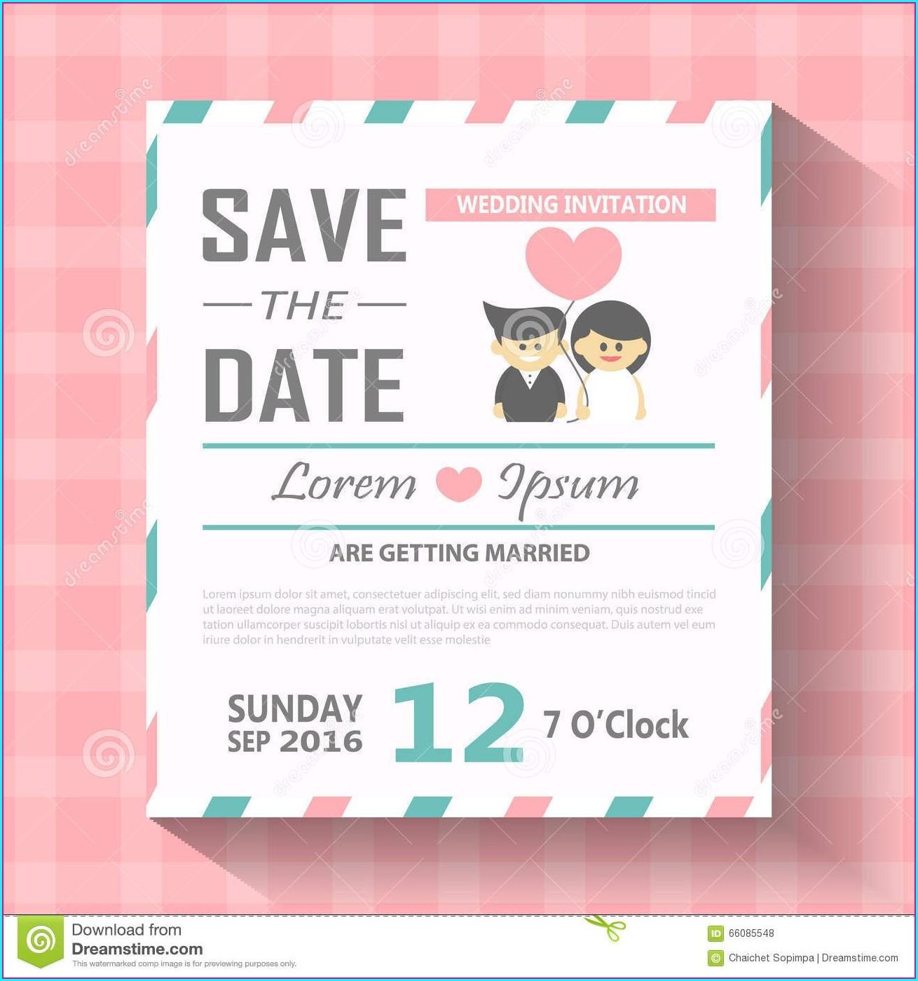Editable Free Wedding Invitation Templates