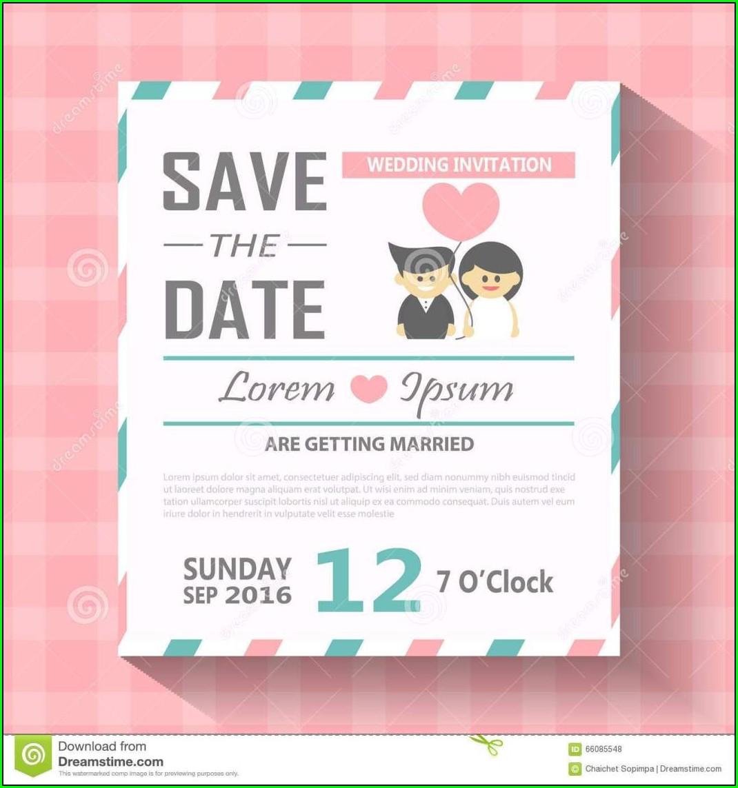 Editable Invitation Card Template Free Download