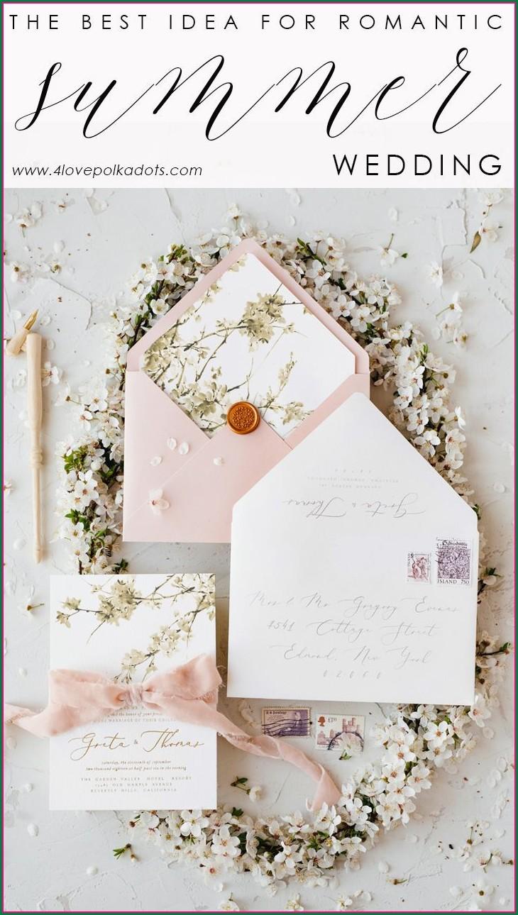 Elegant Cherry Blossom Wedding Invitations