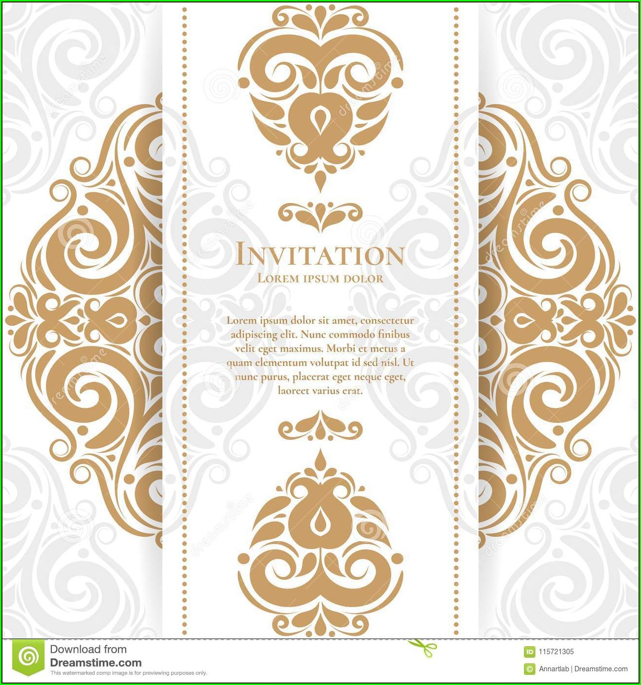 Engagement Invitation Card Background Design Hd