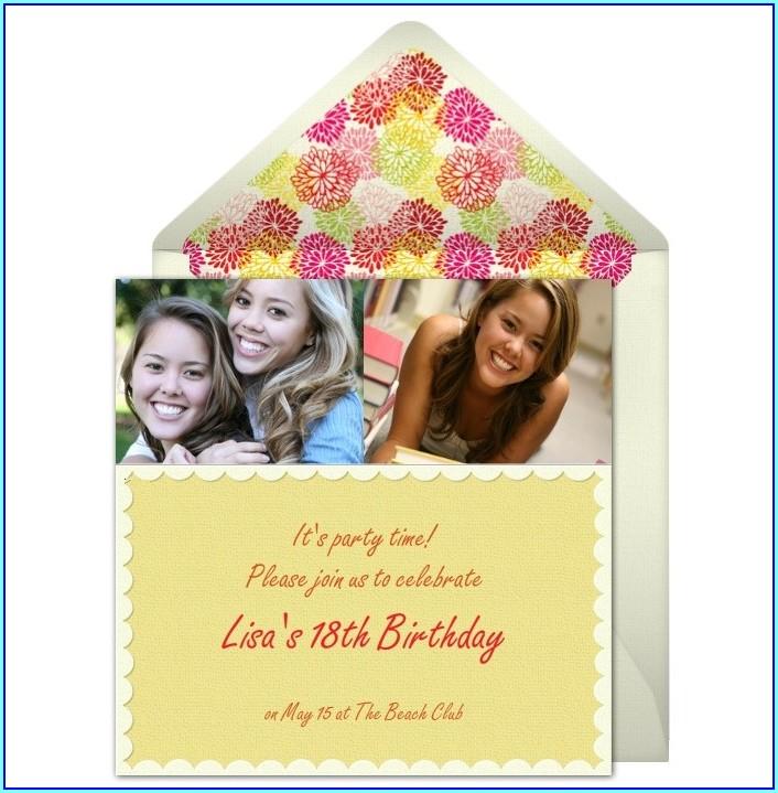 Evite Samples For Birthday Invitation