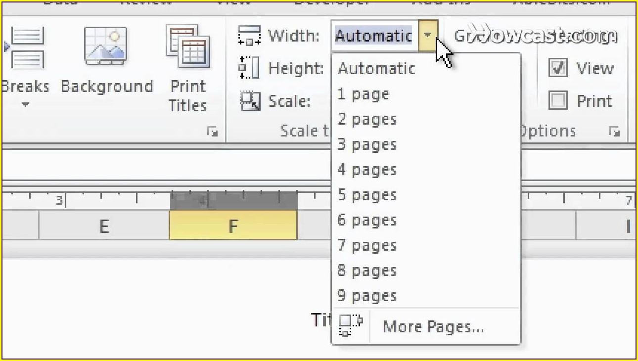 Excel Copy Worksheet Print Setup