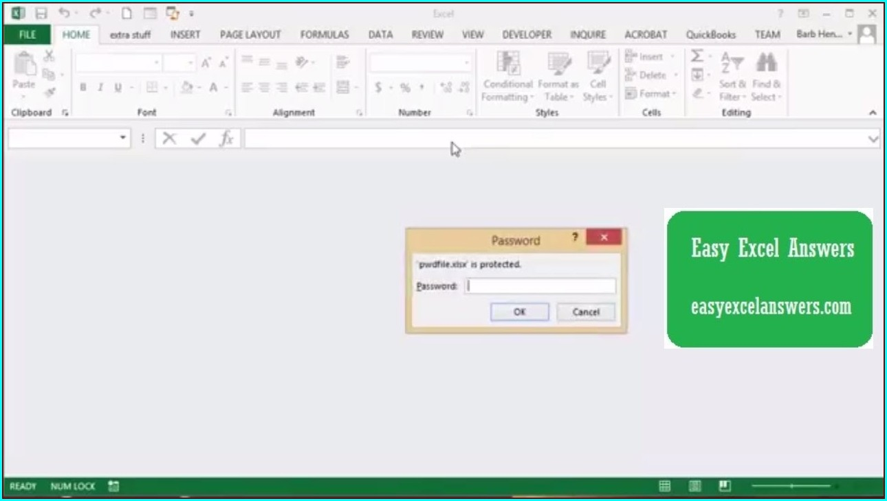 Excel Macro Open Workbook Password Protected
