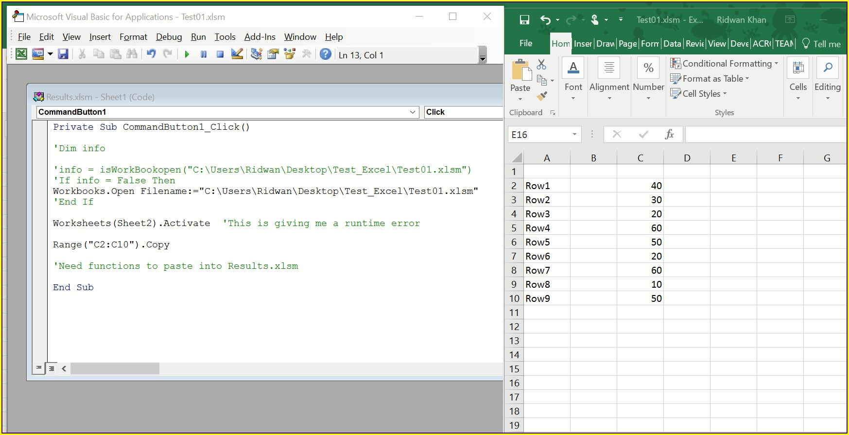Excel Vba Import Worksheet From Another Workbook