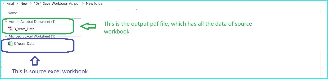 Excel Vba Save Workbook As Pdf