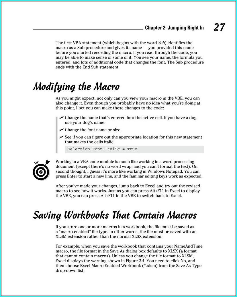 Excel Vba Save Workbook As Xlsm