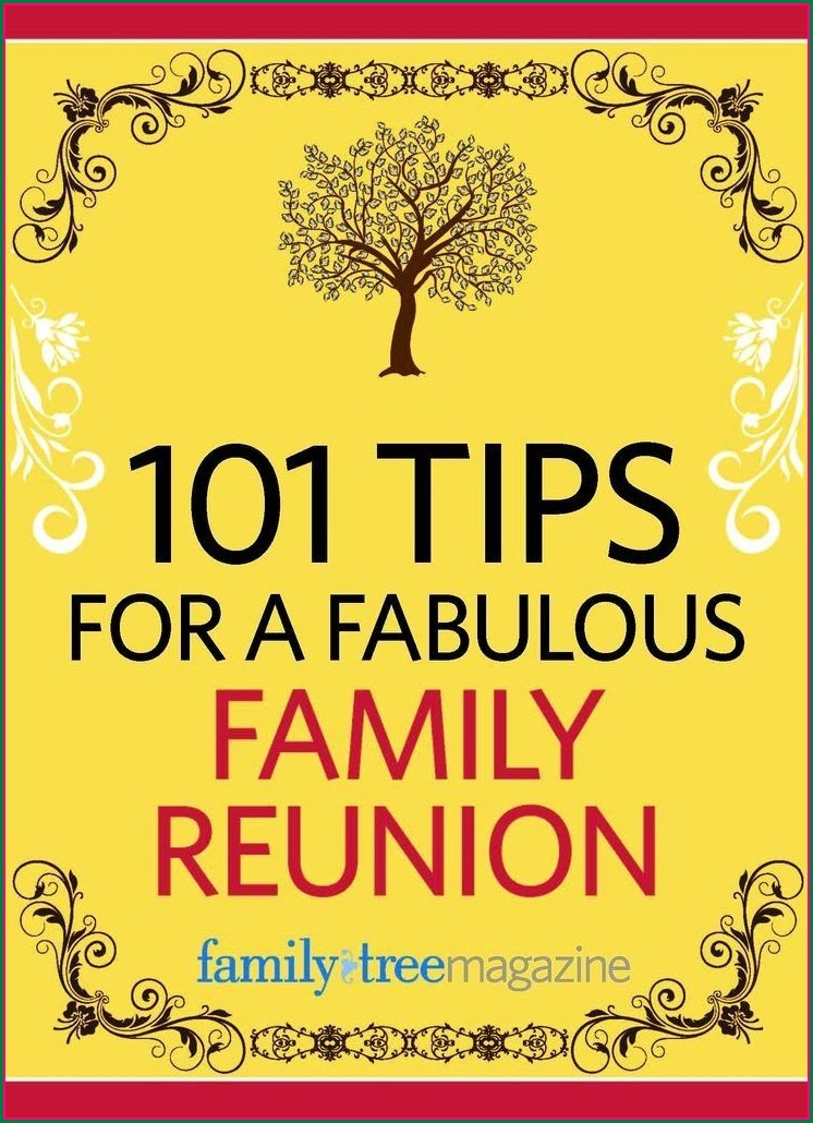 Family Reunion Invitation Ideas