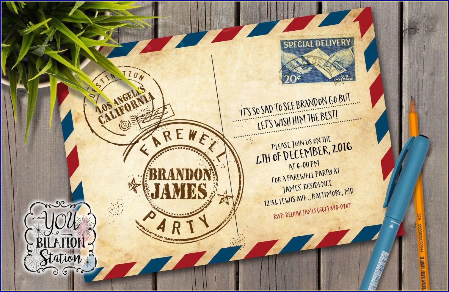 Farewell Invitation Templates Free Download