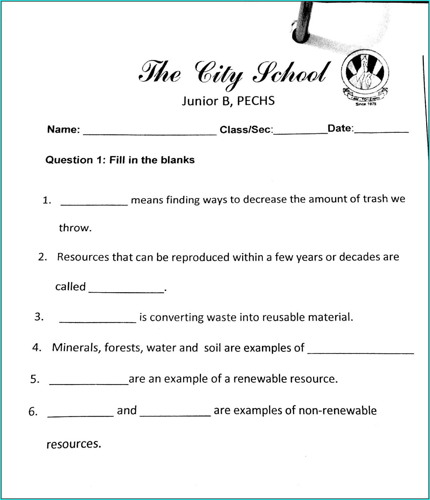 Filipino Worksheets For Grade 5