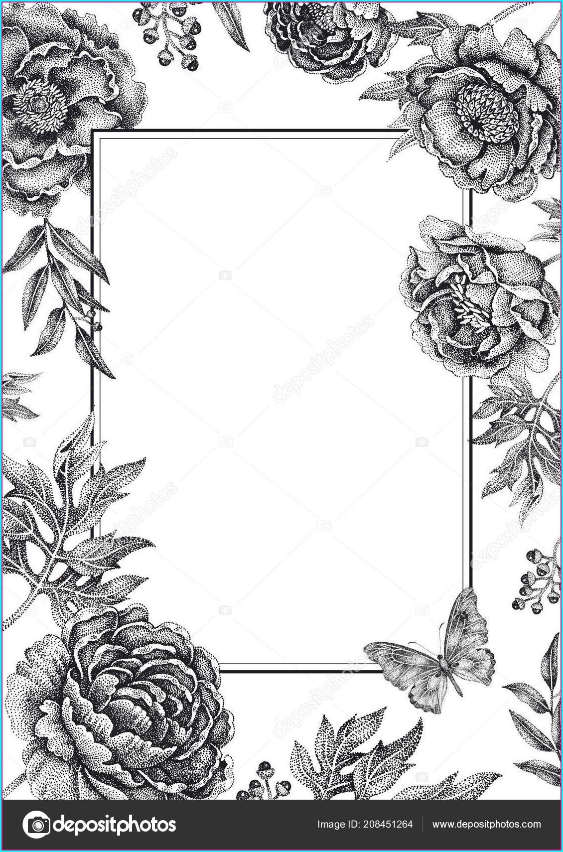 Floral Wedding Invitations Templates