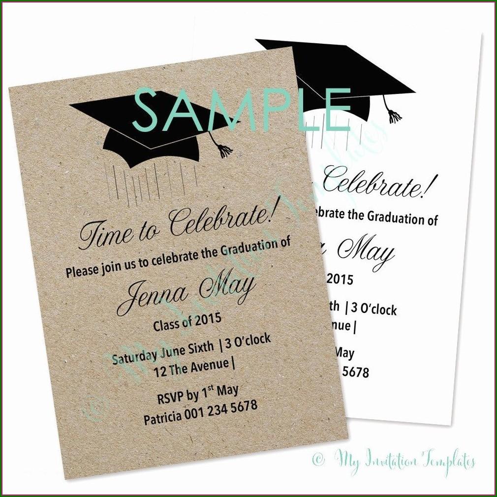 Free Ecards Graduation Invitations