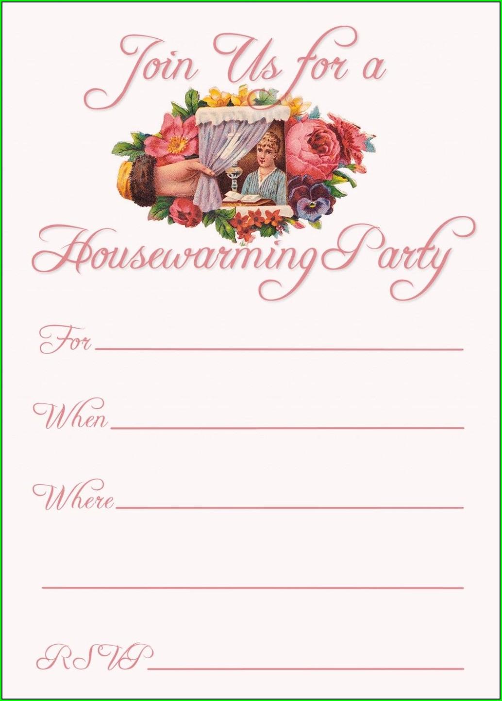 Free Editable Housewarming Invitations Indian