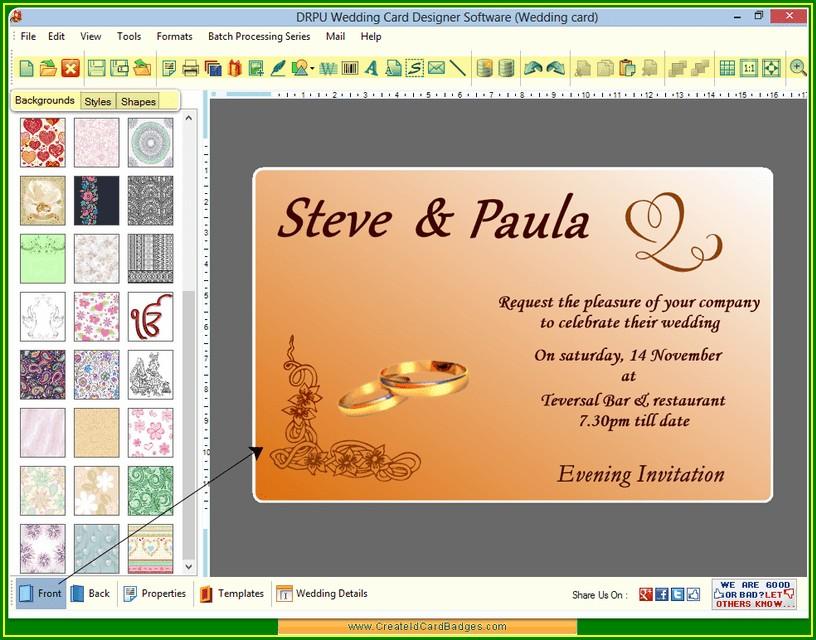 Free Editing Invitation Cards
