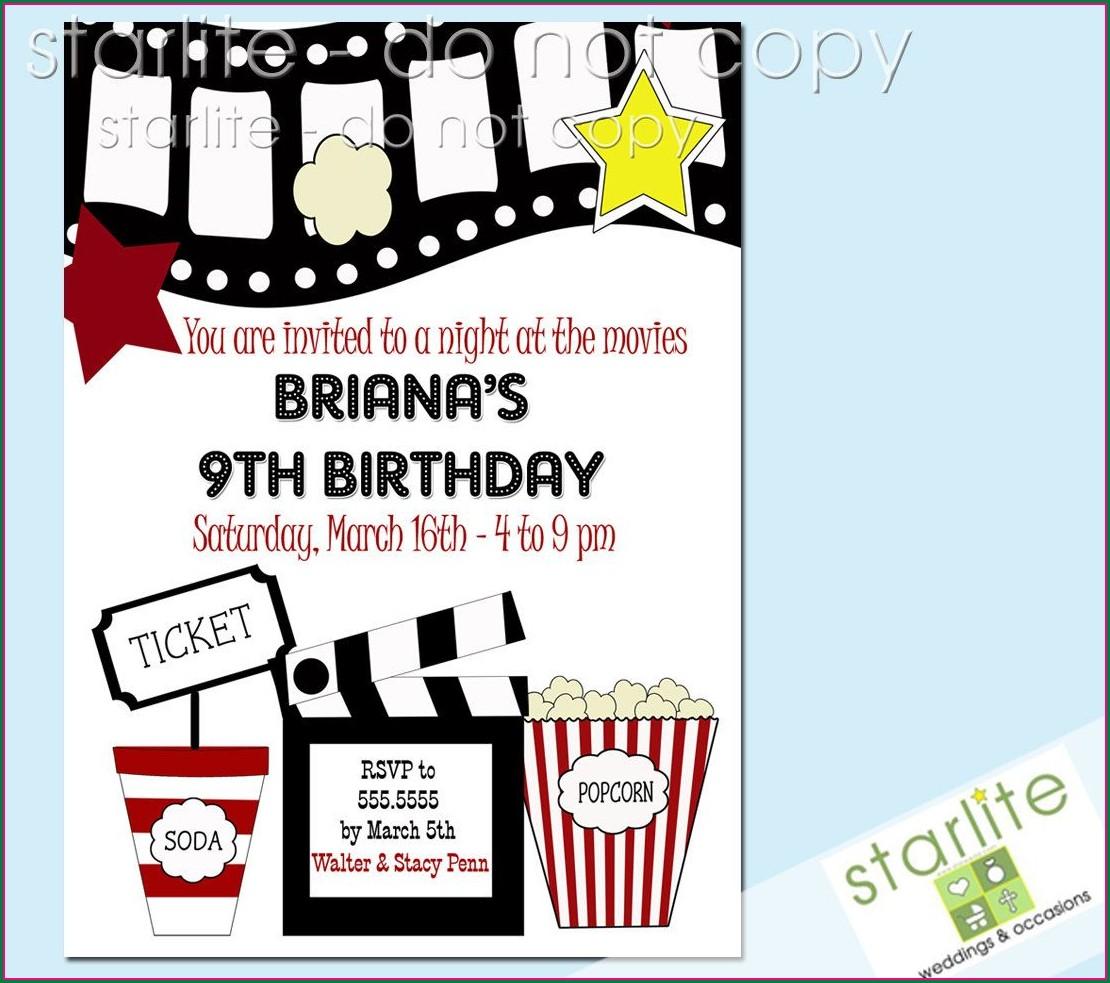 Free Kids Birthday Invitations