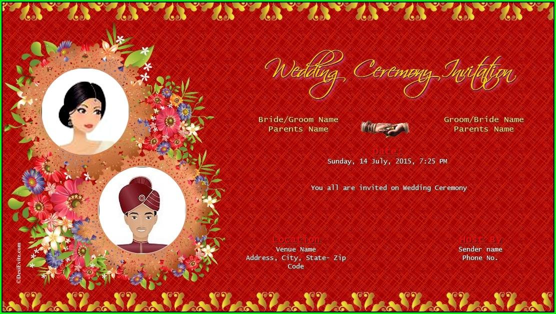 Free Online Invitation Card Design India