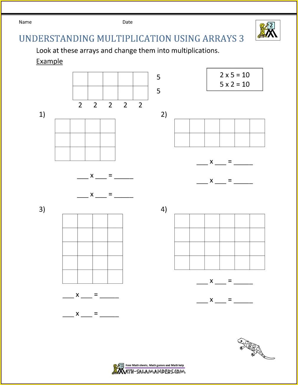 Free Printable Mathematics Worksheet Grade 2