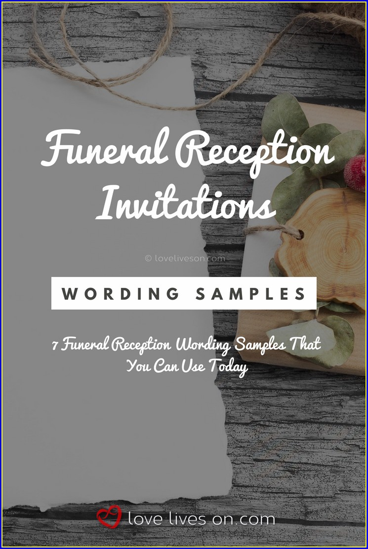 Funeral Mass Invitation Wording