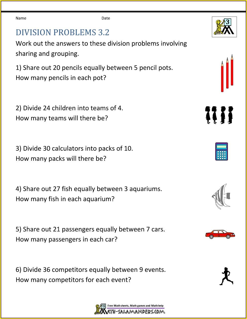 Grade 3 Division By 7 Worksheet