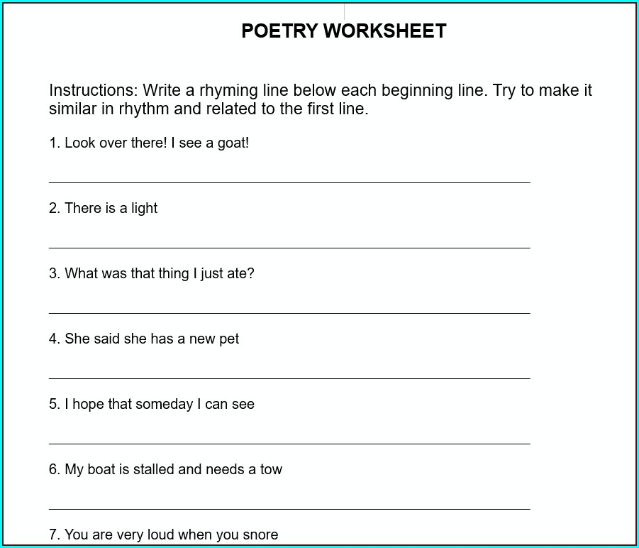 Grade 3 English Writing Worksheets Pdf