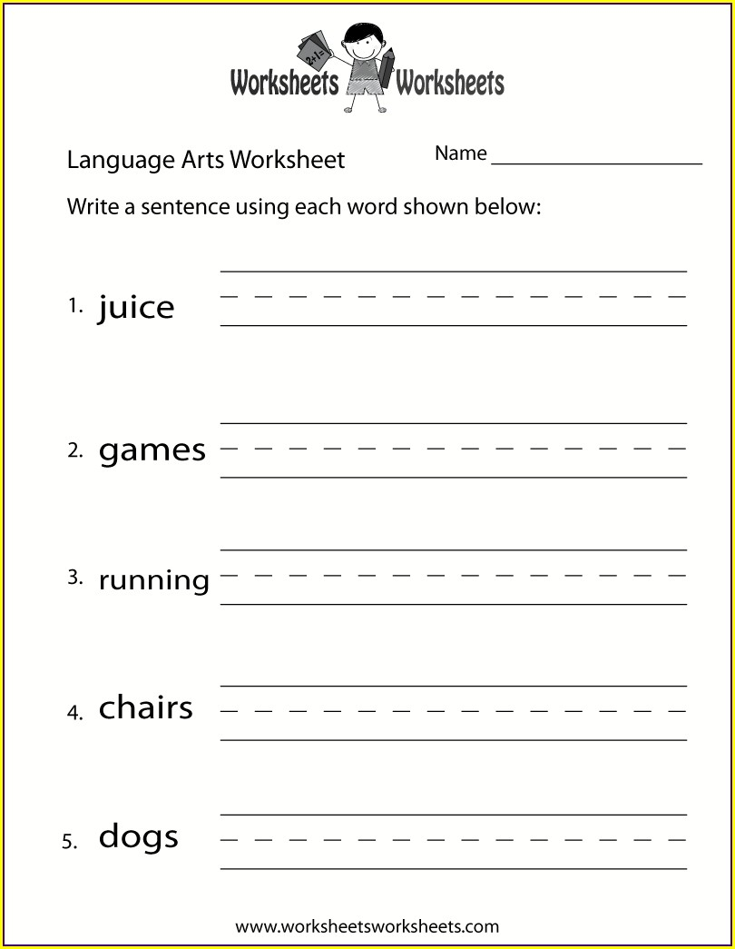 Grade 3 Free Printable 3rd Grade Language Arts Worksheets