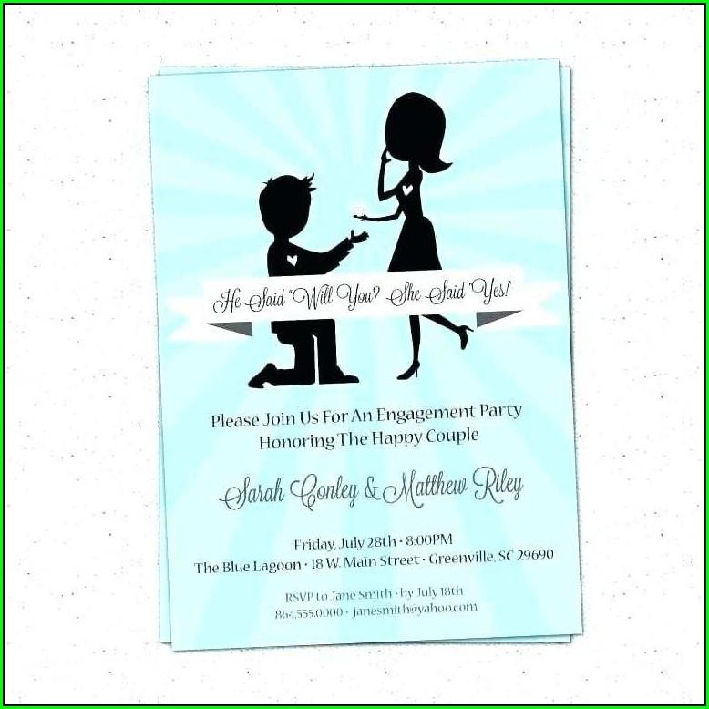 Graduation Invitation Card Example