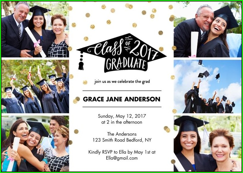 Graduation Invitations 2018 Walgreens