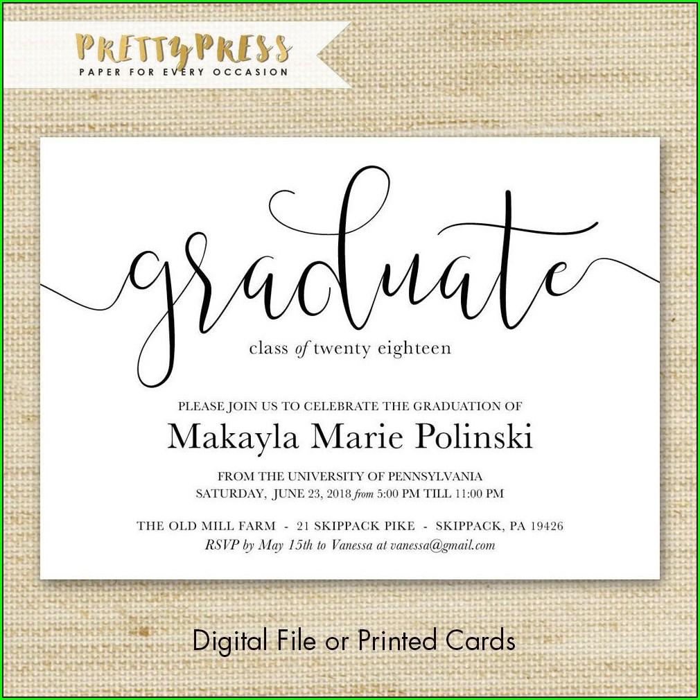 Graduation Invitations Free Shipping