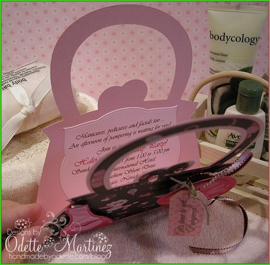 Handmade By Odette Invitations