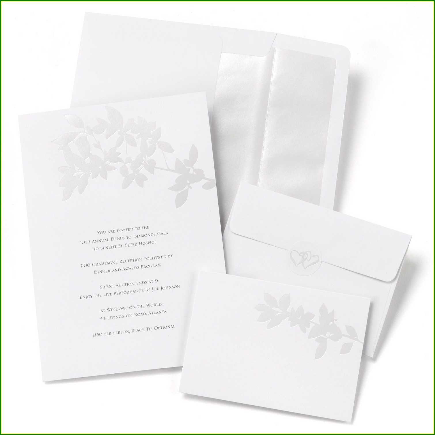 Hortense B Hewitt Wedding Invitation Kits