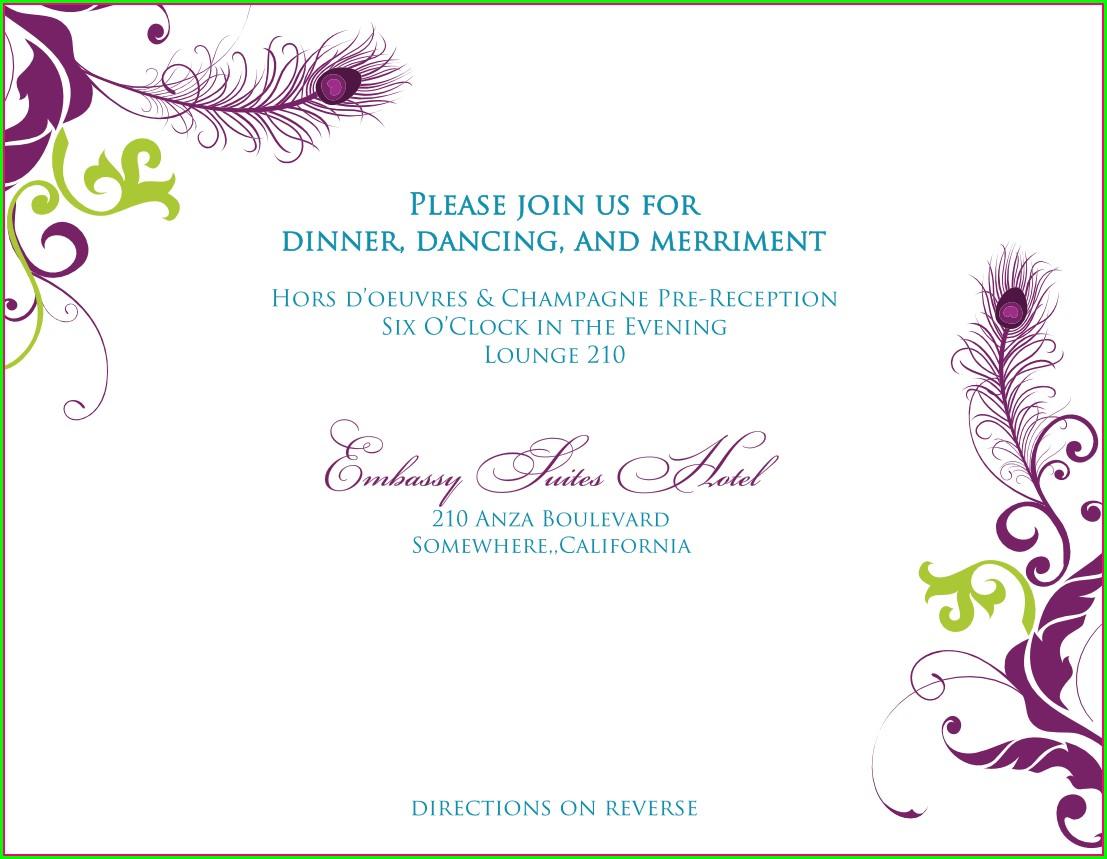 Invitation Design Template Png