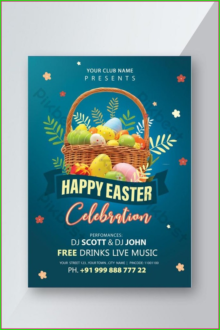 Invitation Flyer Template Free Download