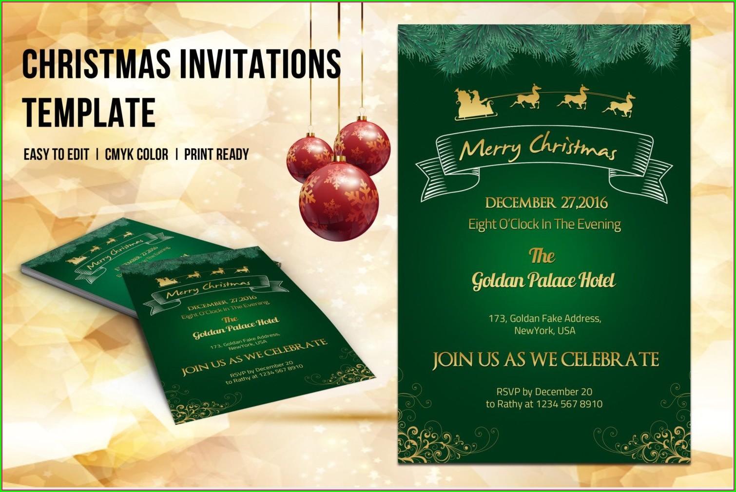Invitation Flyer Template Word
