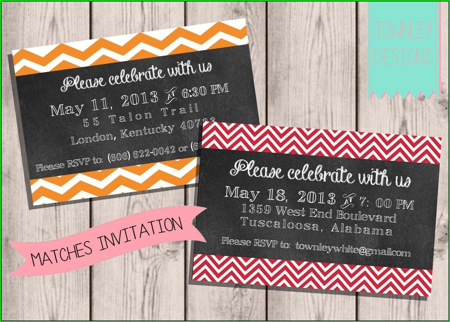 Invitation Graduation Card Ideas