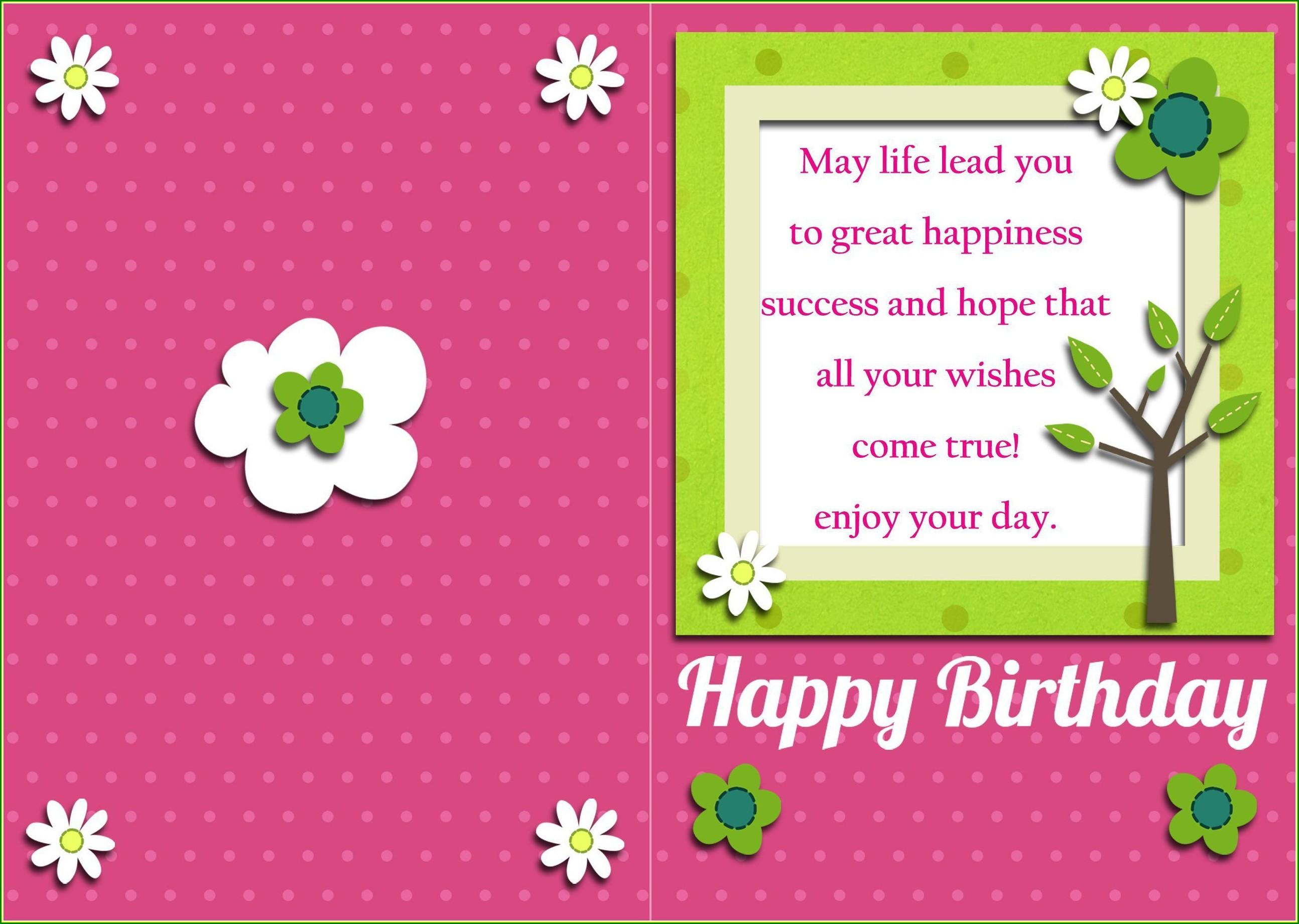 Kid Birthday Invitation Card Template Free