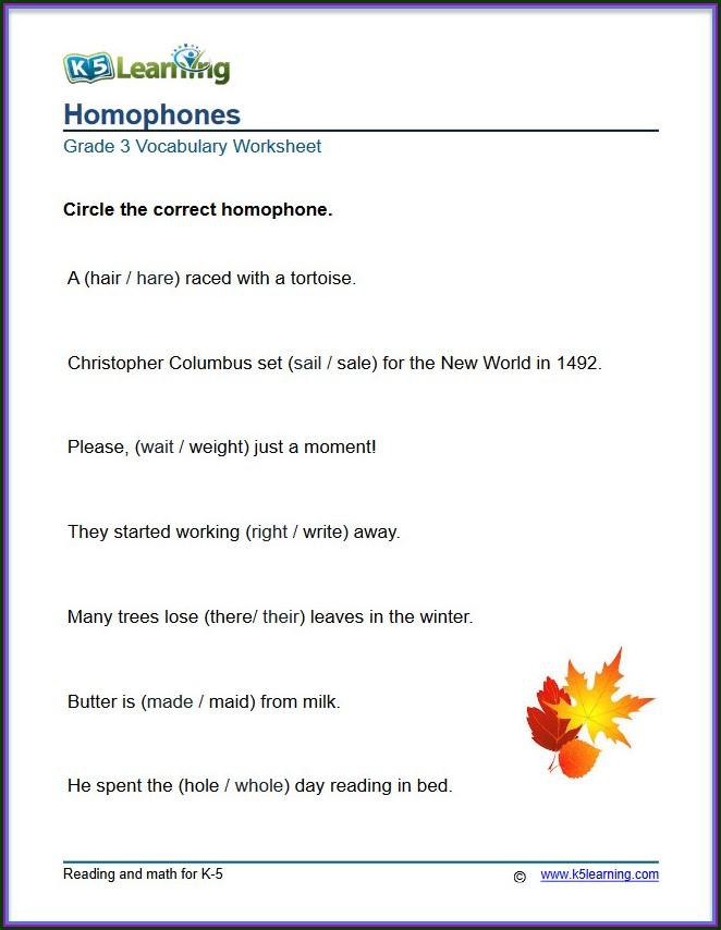 Ks Learning Grade 3 Adjectives Worksheet