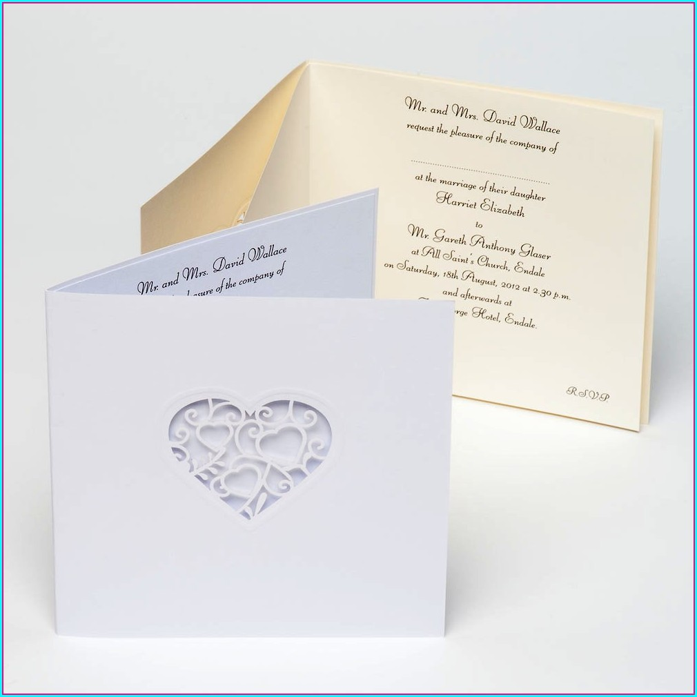 Lace Wedding Invitations Uk