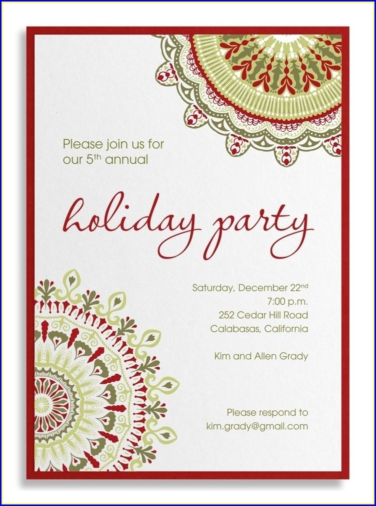 Lunch Invitation Wording For Family