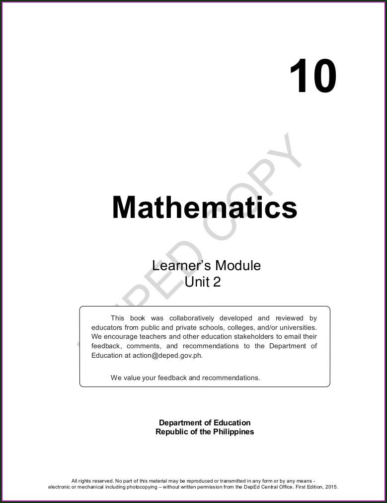 Math Worksheetorg Geometry Answers