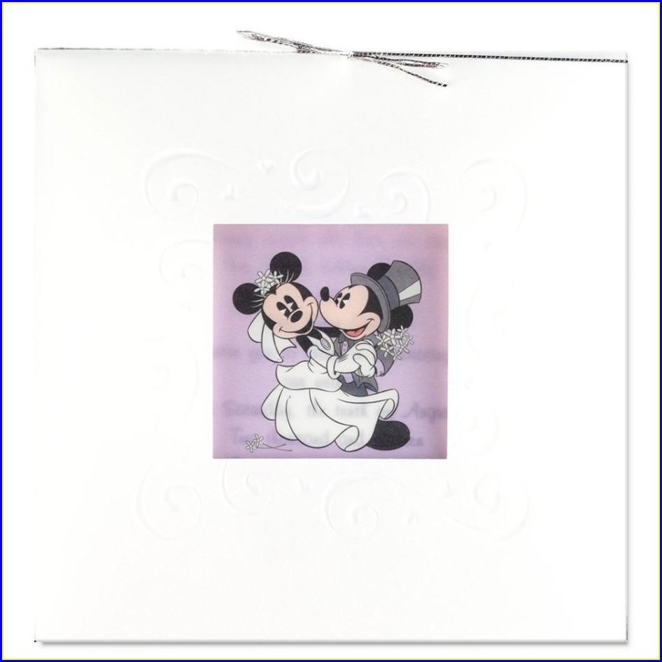 Mickey And Minnie Wedding Invitations