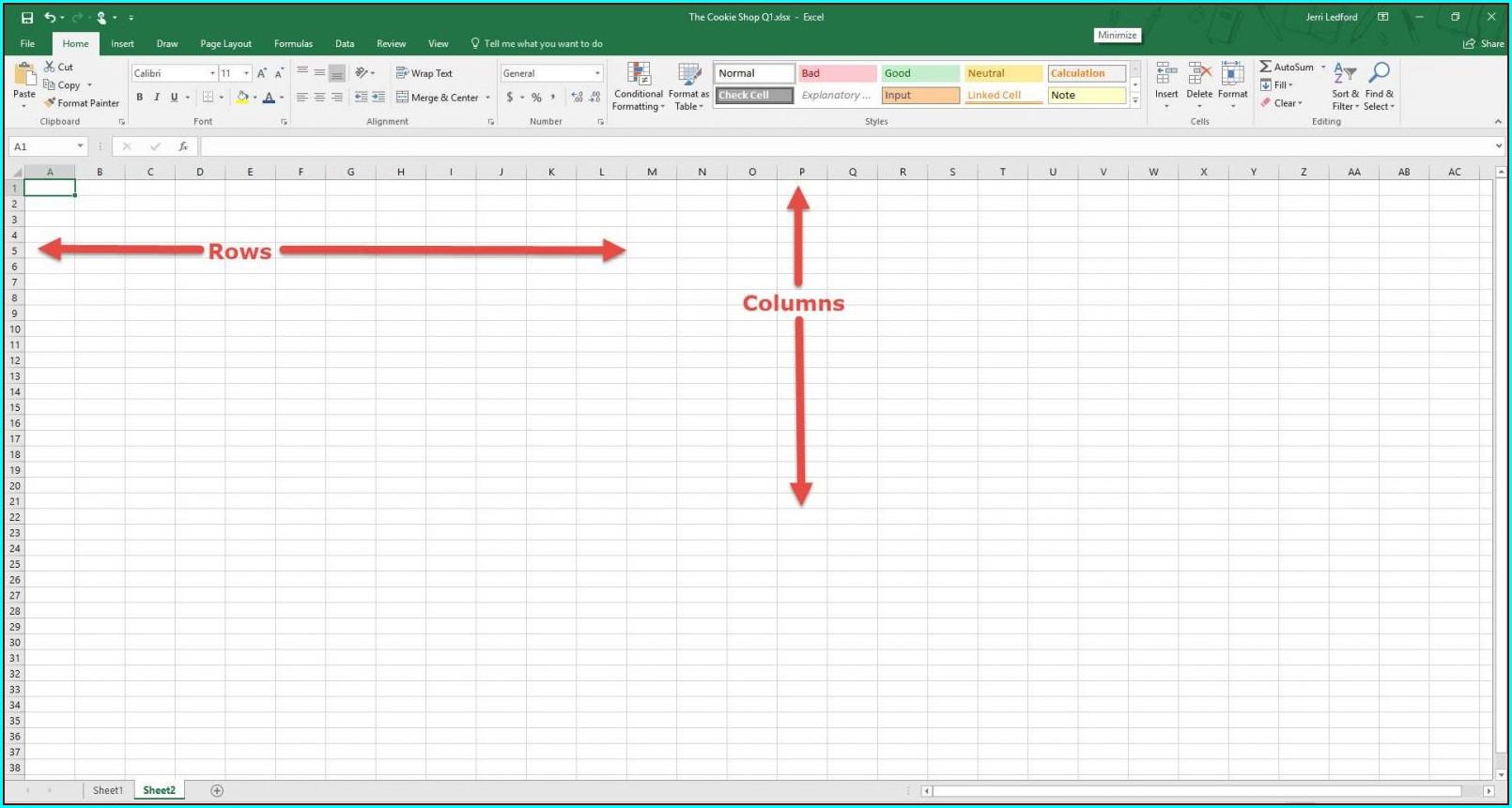 Microsoft Excel Insert New Worksheet