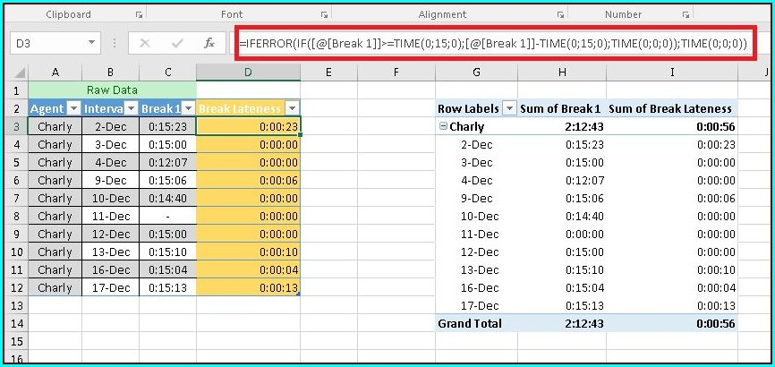 Microsoft Excel Pivot Table Calculated Field