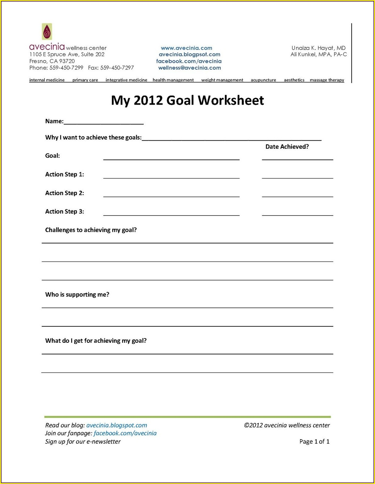 Middle School Health And Wellness Worksheets For Students