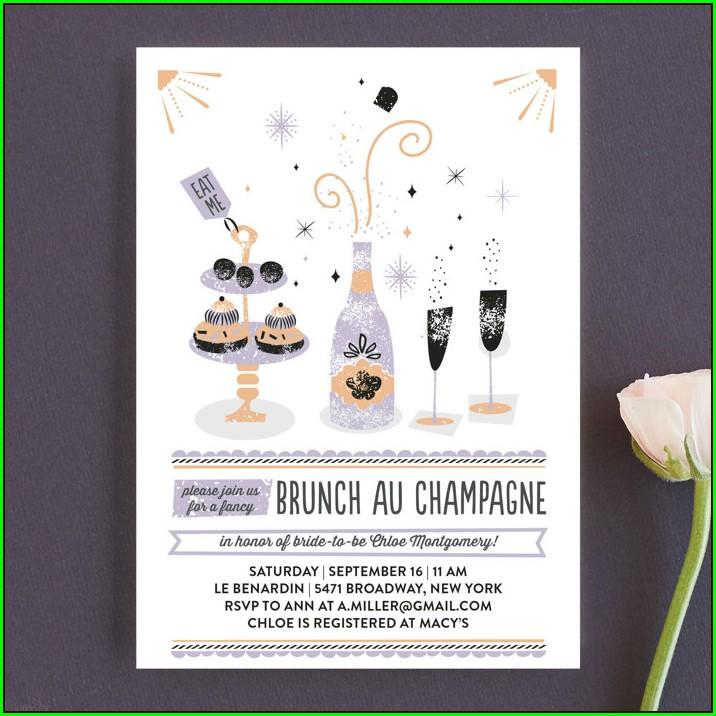 Minted Bridal Brunch Invitations