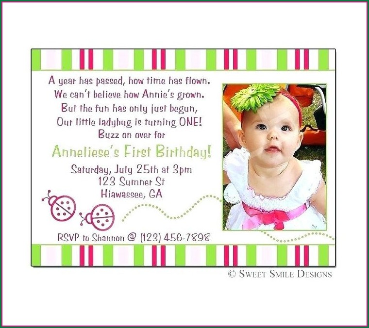 Naming Ceremony Invitation Message