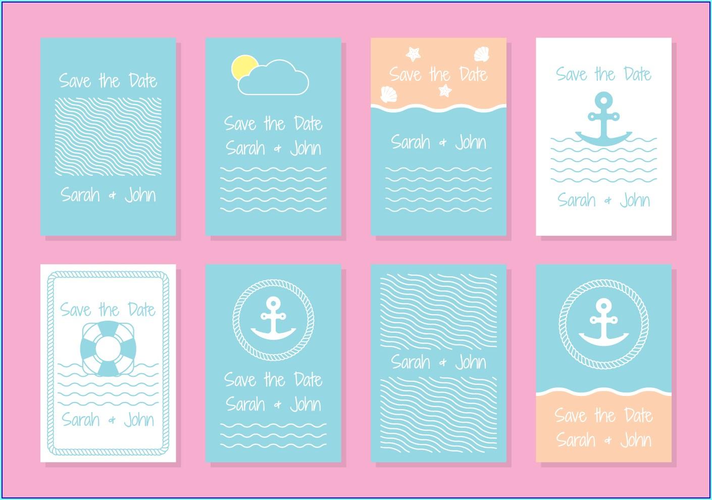 Nautical Invitation Templates Free Download