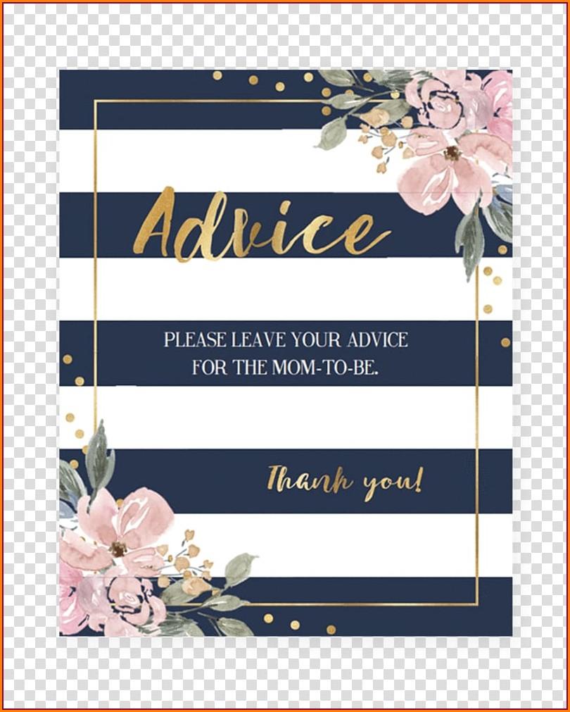 Navy Blue Wedding Invitation Templates Free