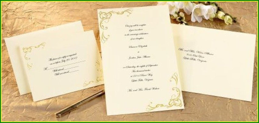 Officemax Wedding Invitation Kits