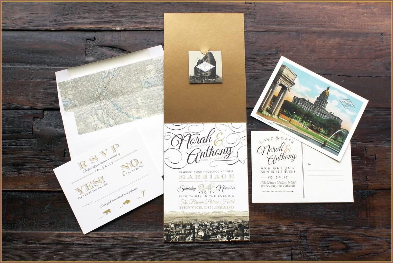Onion Paper Wedding Invitations