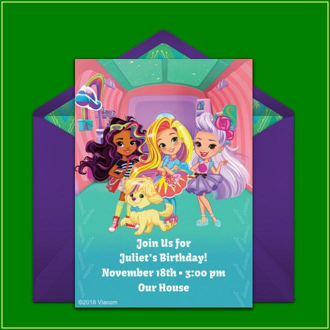 Online Moana Birthday Invitations